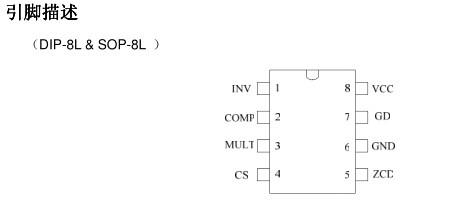 启达cr6562 l6562a/d临界导通模式的有源pfc控制器